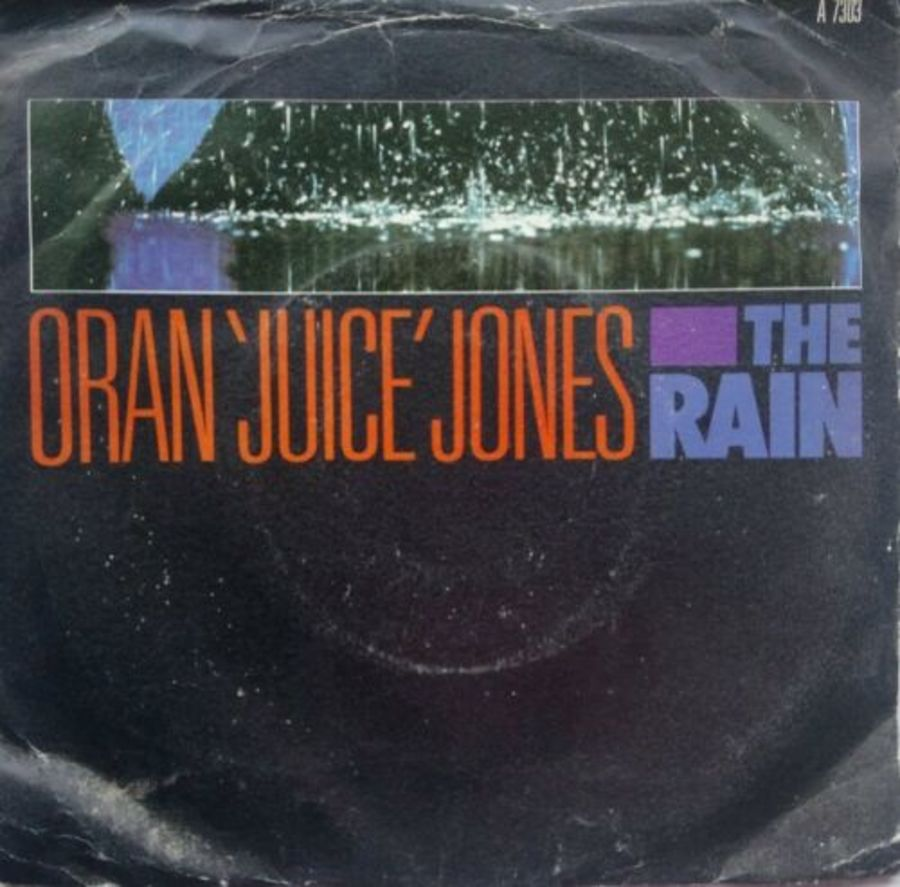 Oran 'Juice ' Jones - The Rain - Vinyl Record 7