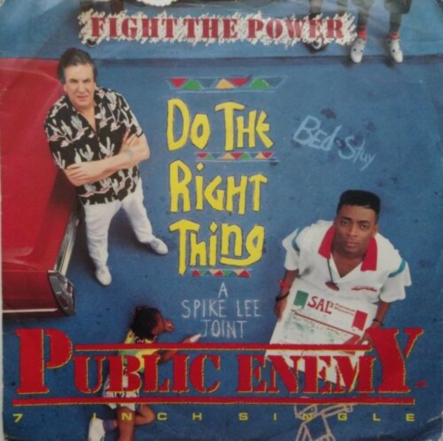 Public Enemy - Do The Right Thing - Vinyl Record 7