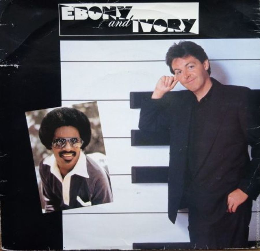 Paul McCartney & Stevie Wonder - Ebony & Ivory - 7