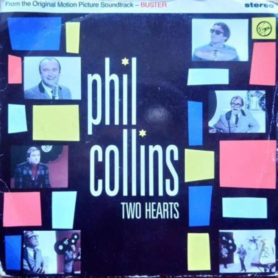 Phil Collins - Two Hearts - Vinyl Record 7