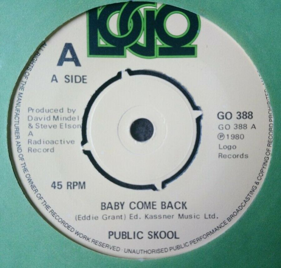 Public Skool - Baby Come Back - 7