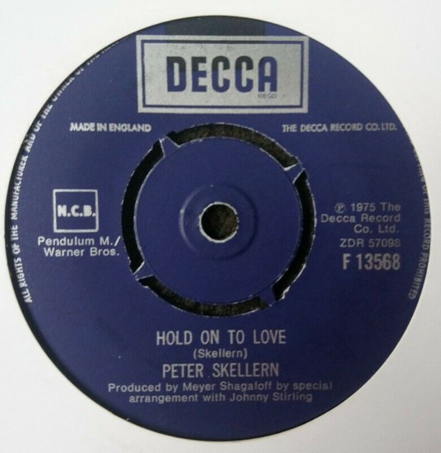 Peter Skellern - Hold On To Love - 7
