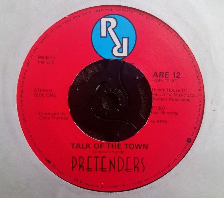 Pretenders - Talk Of The Town - Vinyl Record 7