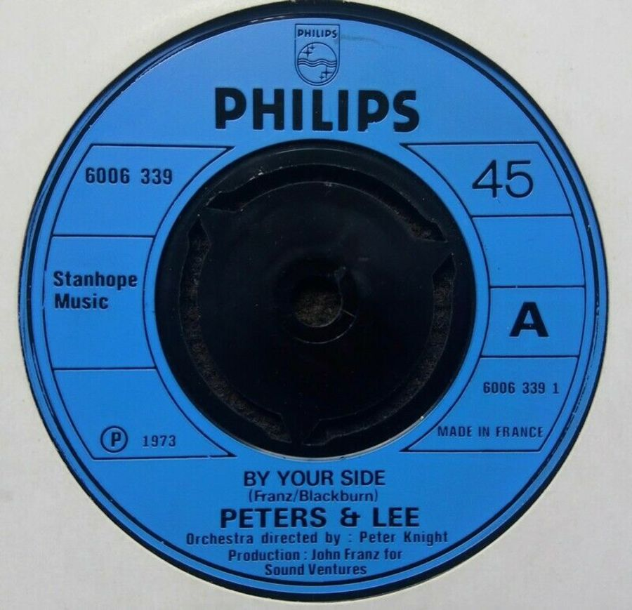 Peters & Lee - By Your Side - Vinyl Record 7