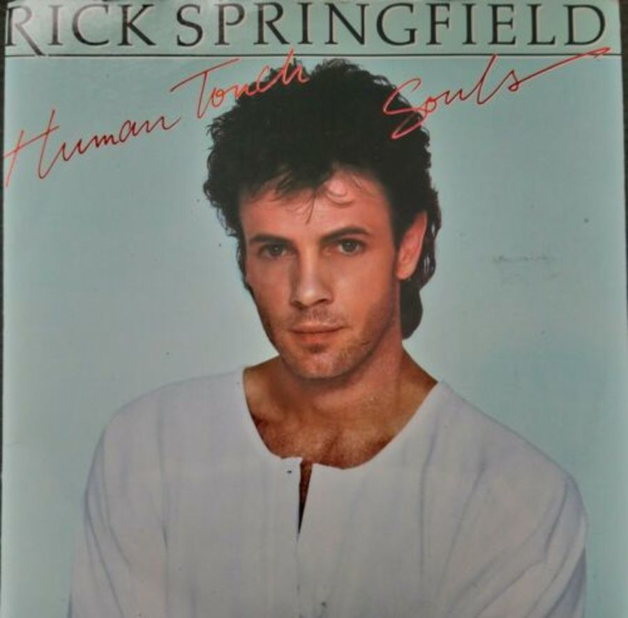 Rick Springfield - Human Touch - Vinyl Record 7
