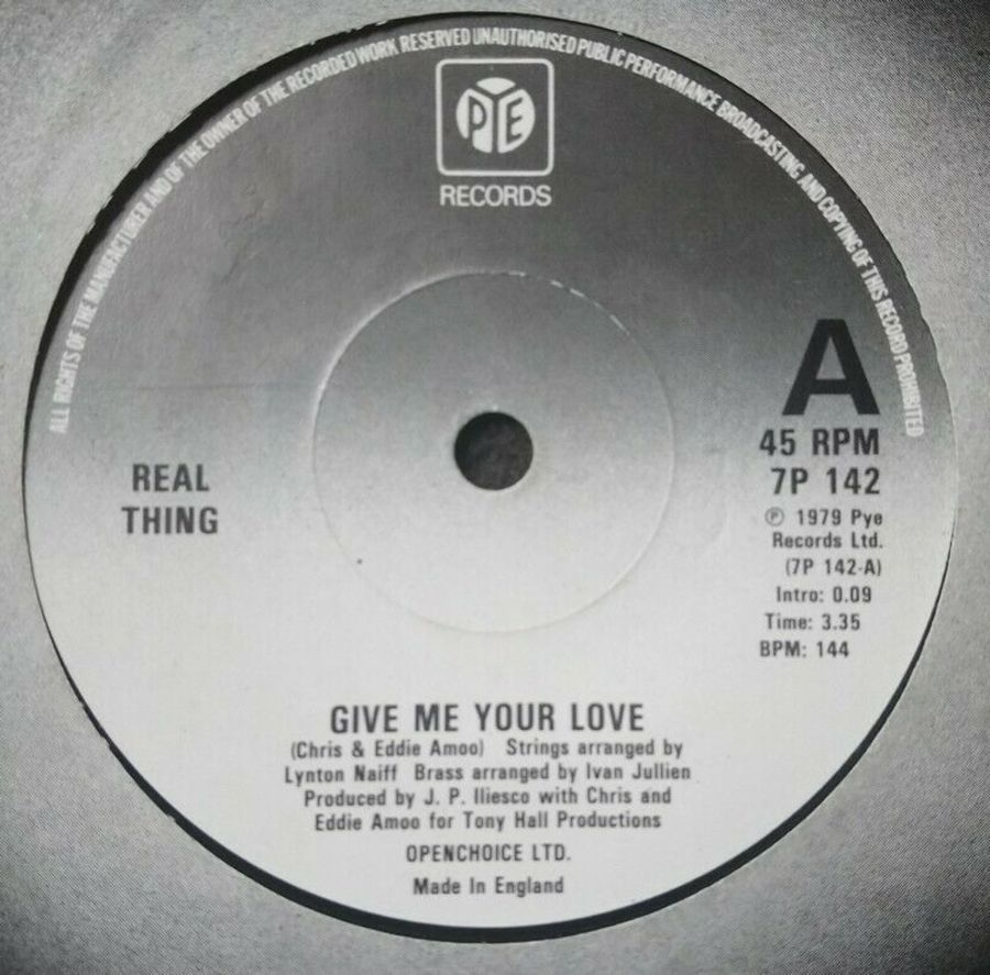 Real Thing - Give Me Your Love - 7