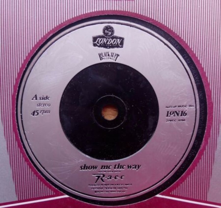 R.A.C.E - Show Me The Way - Vinyl Record 7