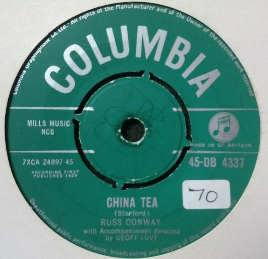 Russ Conway - China Tea / The Wee Boy Of Brussels - 7