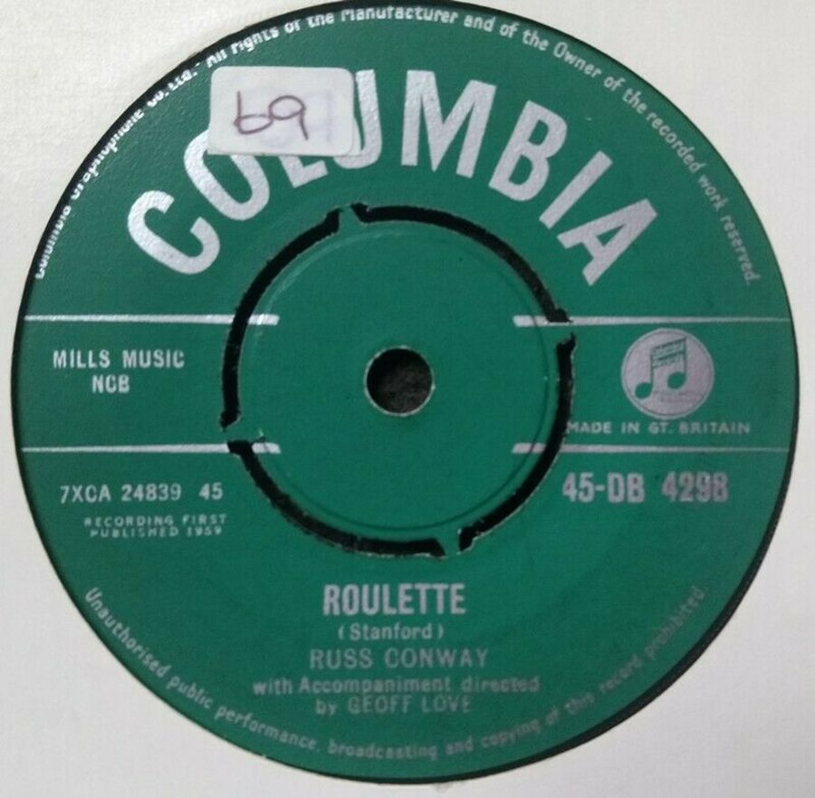 Russ Conway - Roulette / Trampolina - 7