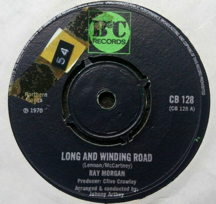 Ray Morgan - Long And Winding Road - Vinyl Record 7