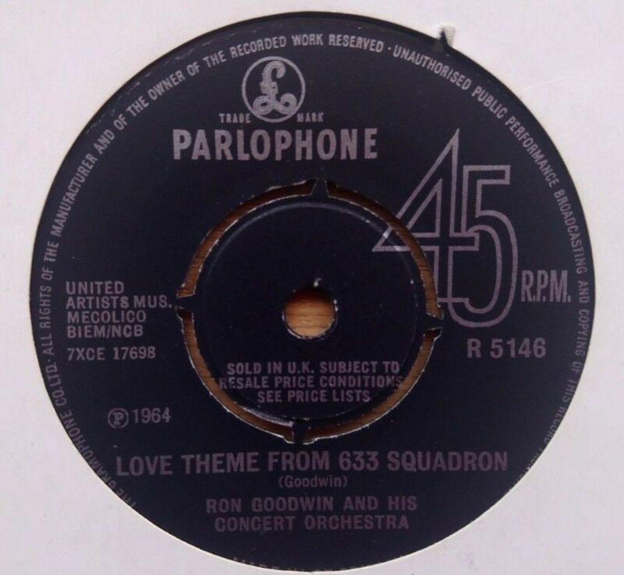 Ron Goodwin - Love Theme From 633 Squadron - Vinyl Record 7