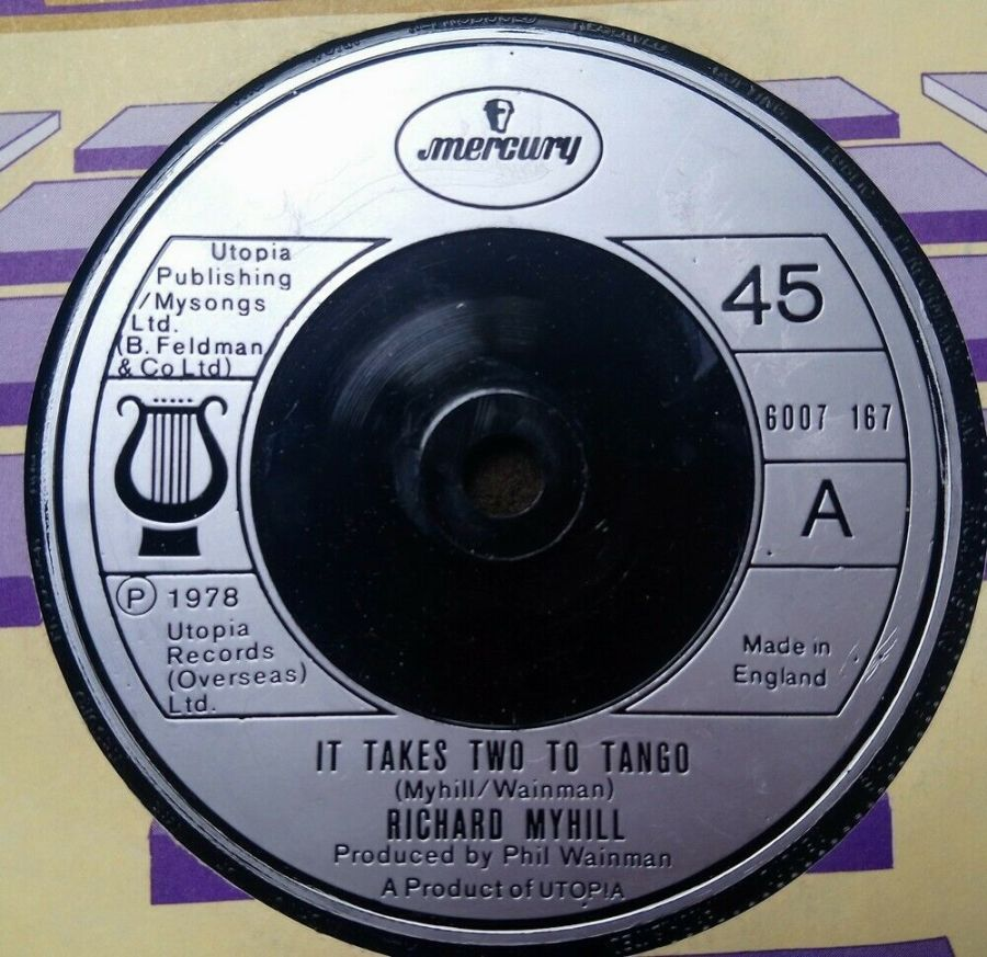 Richard Myhill - It Takes Two To Tango - Vinyl Record 7