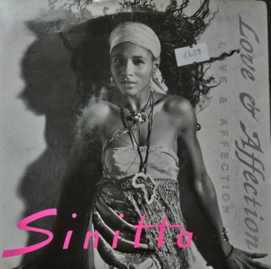 Sinitta - Love & Affection - Vinyl Record 7