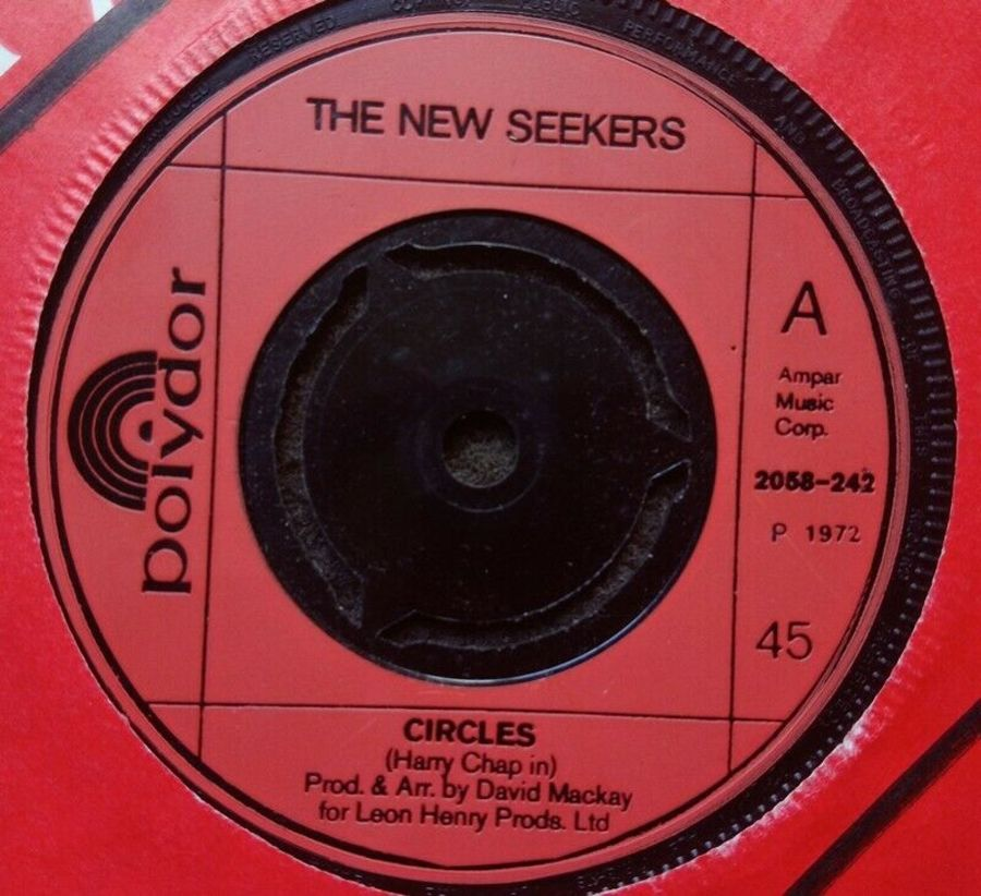 The New Seekers - Circles - Vinyl Record 7