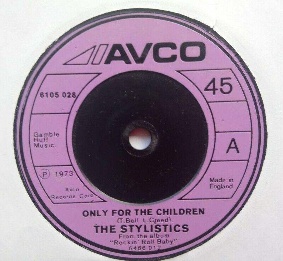 The Stylistics - Only For The Children - Vinyl Record 7