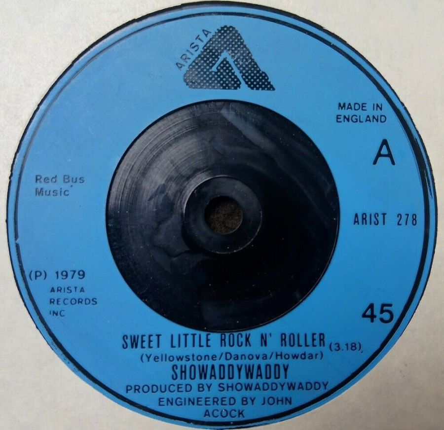 Showaddywaddy - Sweet Little Rock N Roller - Vinyl Record 7