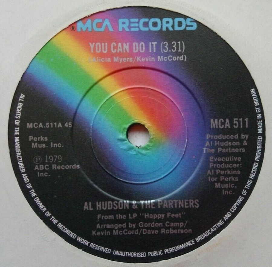 Al Hudson & The Partners - You Can Do It - Vinyl Record 7