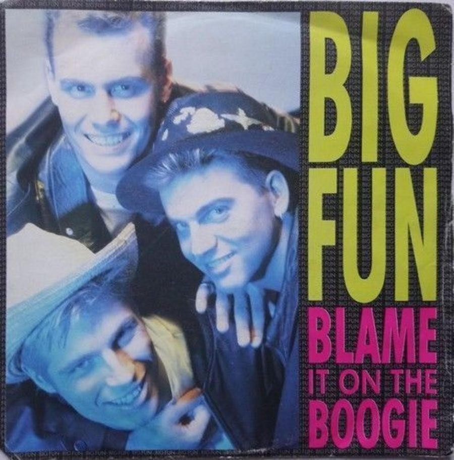 Big Fun - Blame It On The Boogie - Vinyl Record 7