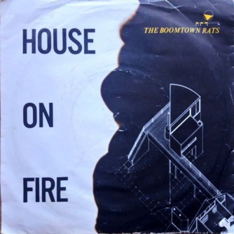 The Boomtown Rats - House Of Fire - Vinyl Record 7