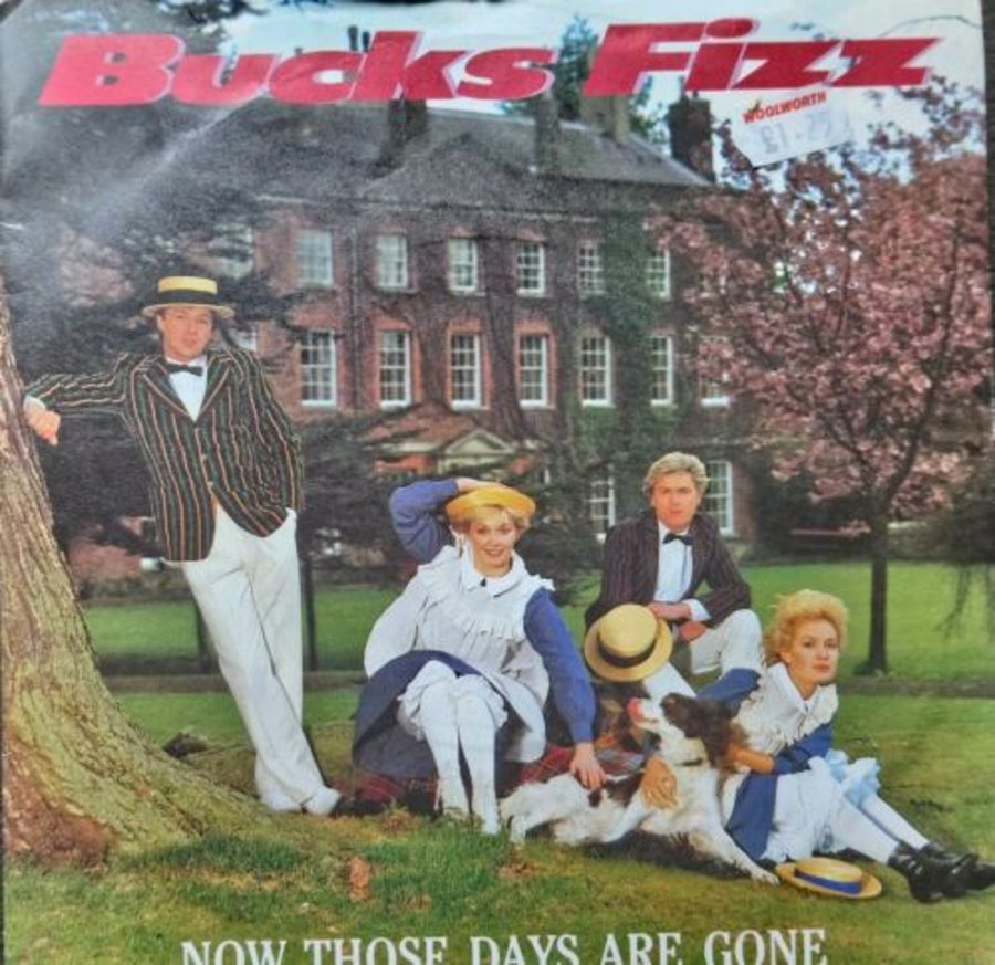 Bucks Fizz - Now Those Days Are Gone - Vinyl Record 7