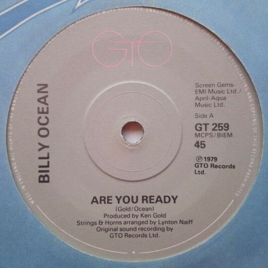 Billy Ocean - Are You Ready - Vinyl Record 7