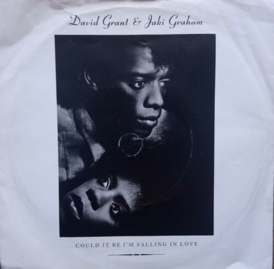 David Grant & Jaki Graham - Could It Be I'm Falling In - Vinyl Record 7