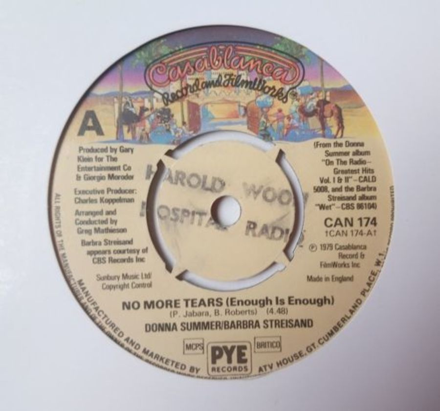 Donna Summer - No More Tears - Vinyl Record 7