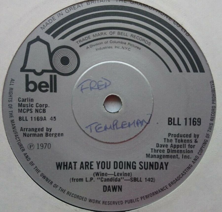 Dawn - What Are You Doing Sunday - 7
