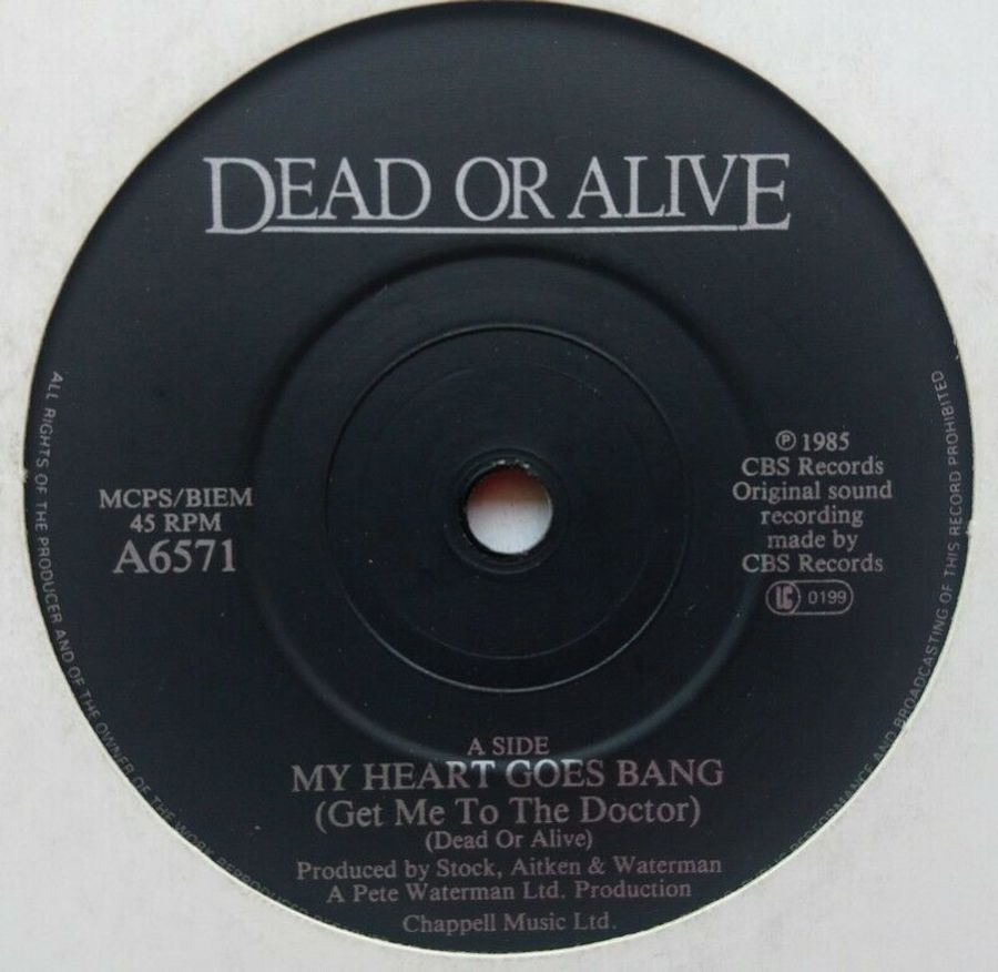 Dead Or Alive - My Heart Goes Bang - 7