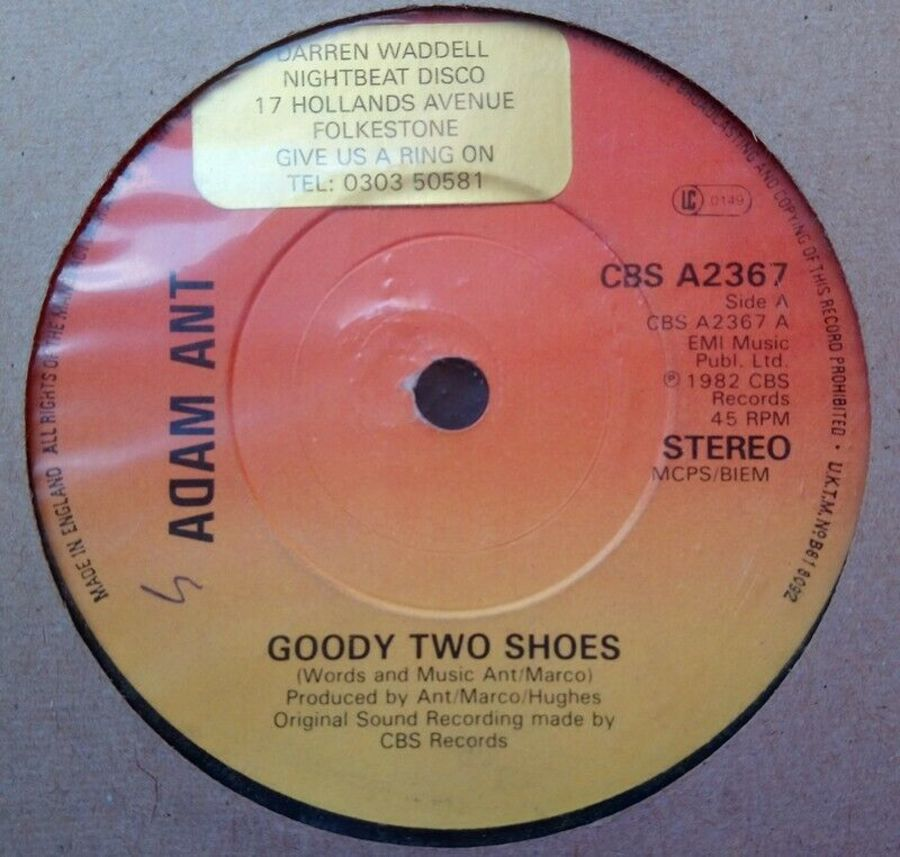 Adam Ant - Goody Two Shoes - 7