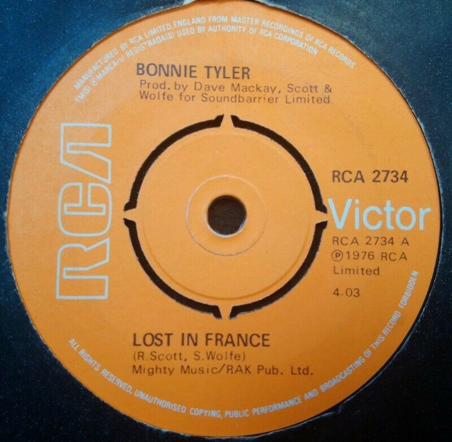 Bonnie Tyler - Lost In France - 7