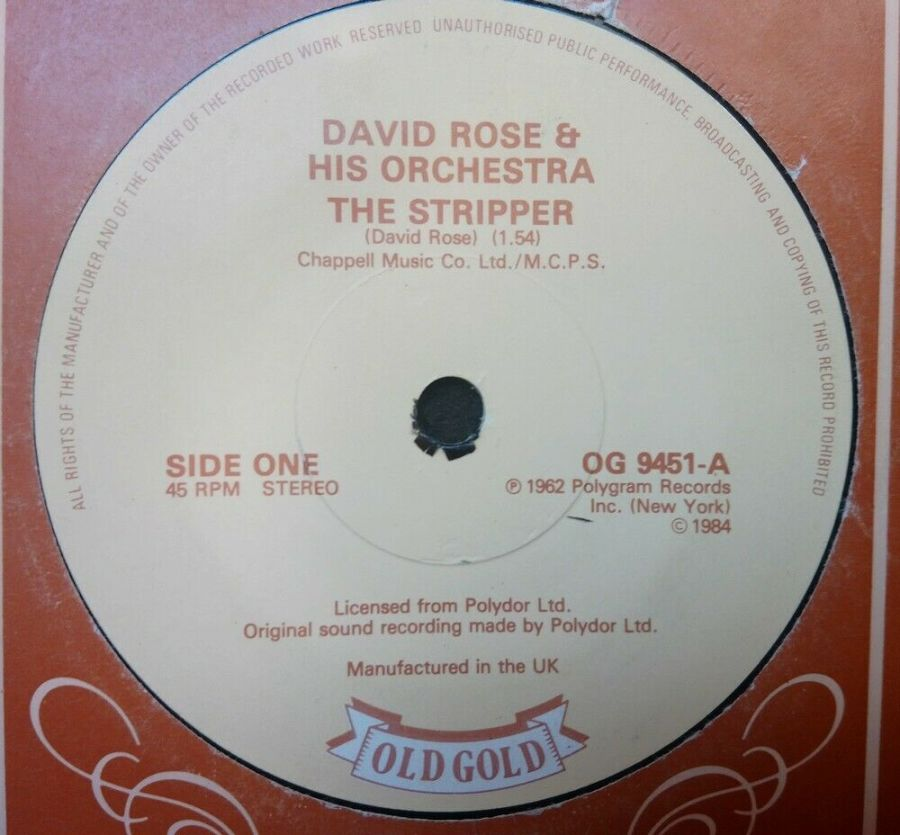 David Rose & His Orchestra - The Stripper - 7