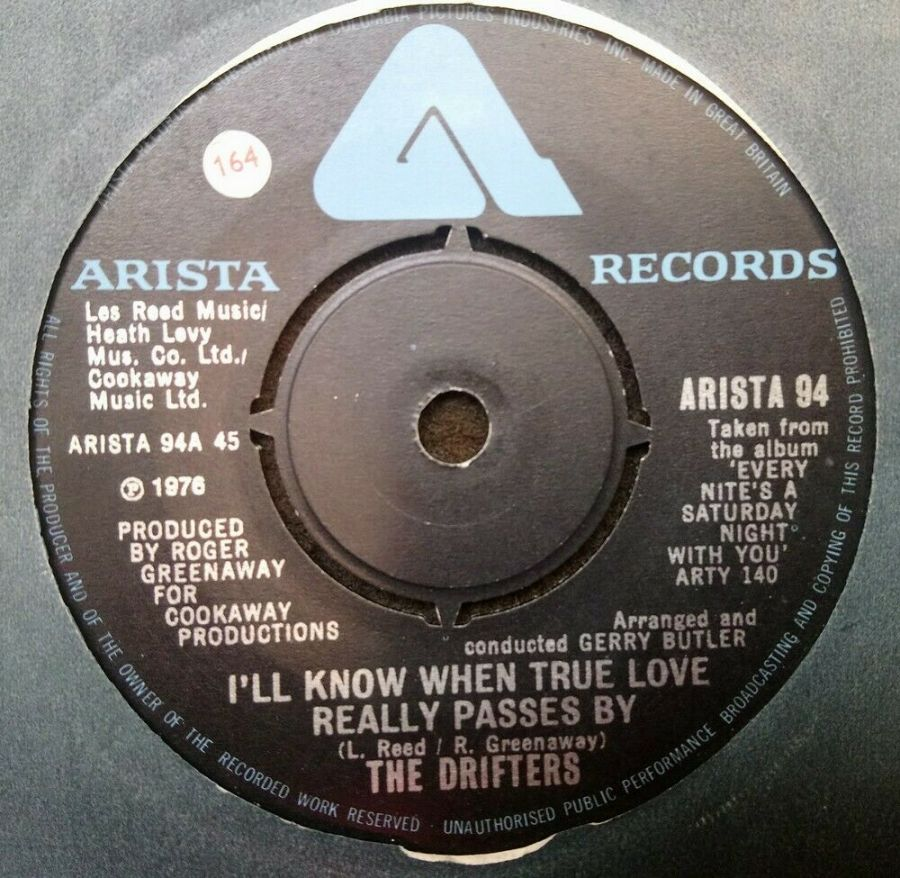 The Drifters - I'll Know When True Love Really Passes By - 7