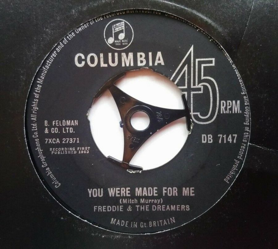 Freddie & The Dreamers - You Were Made For Me - 7