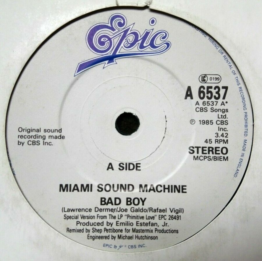 Miami Sound Machine - Bad Boy - 7