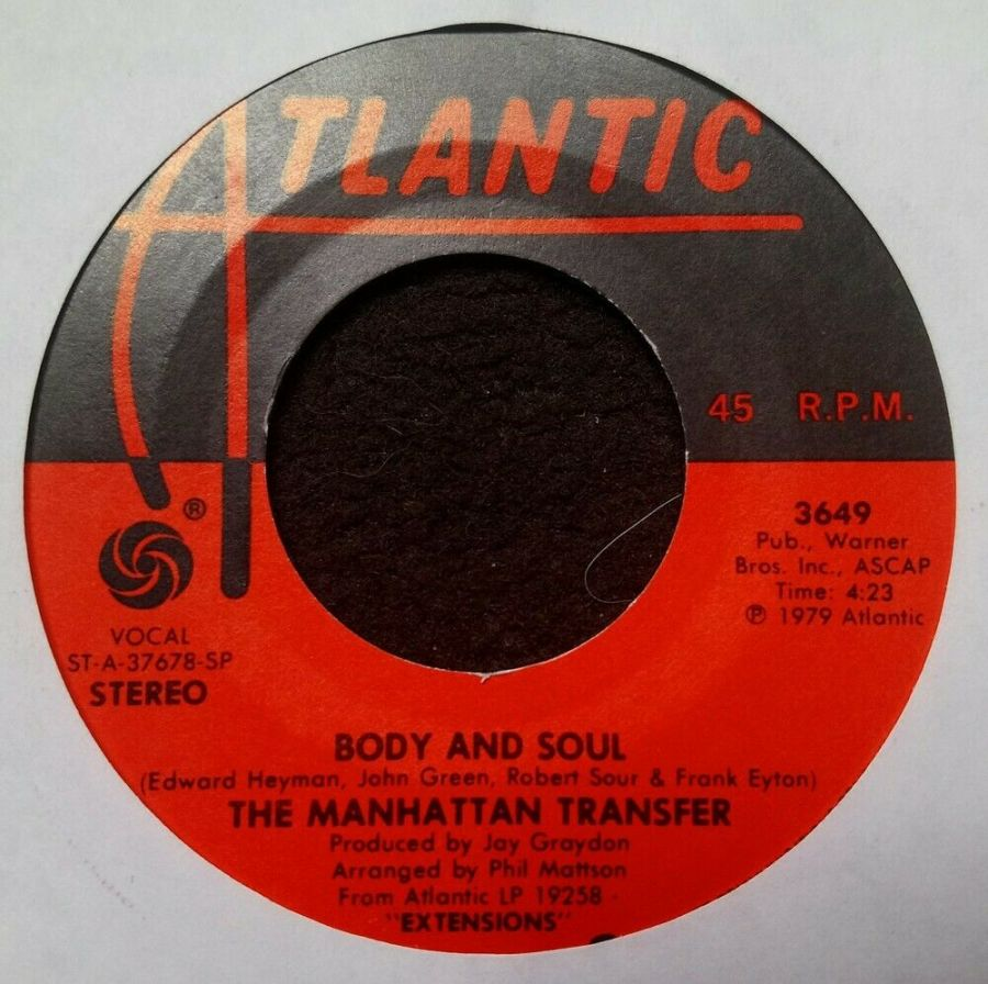 The Manhattan Transfer - Body And Soul - 7