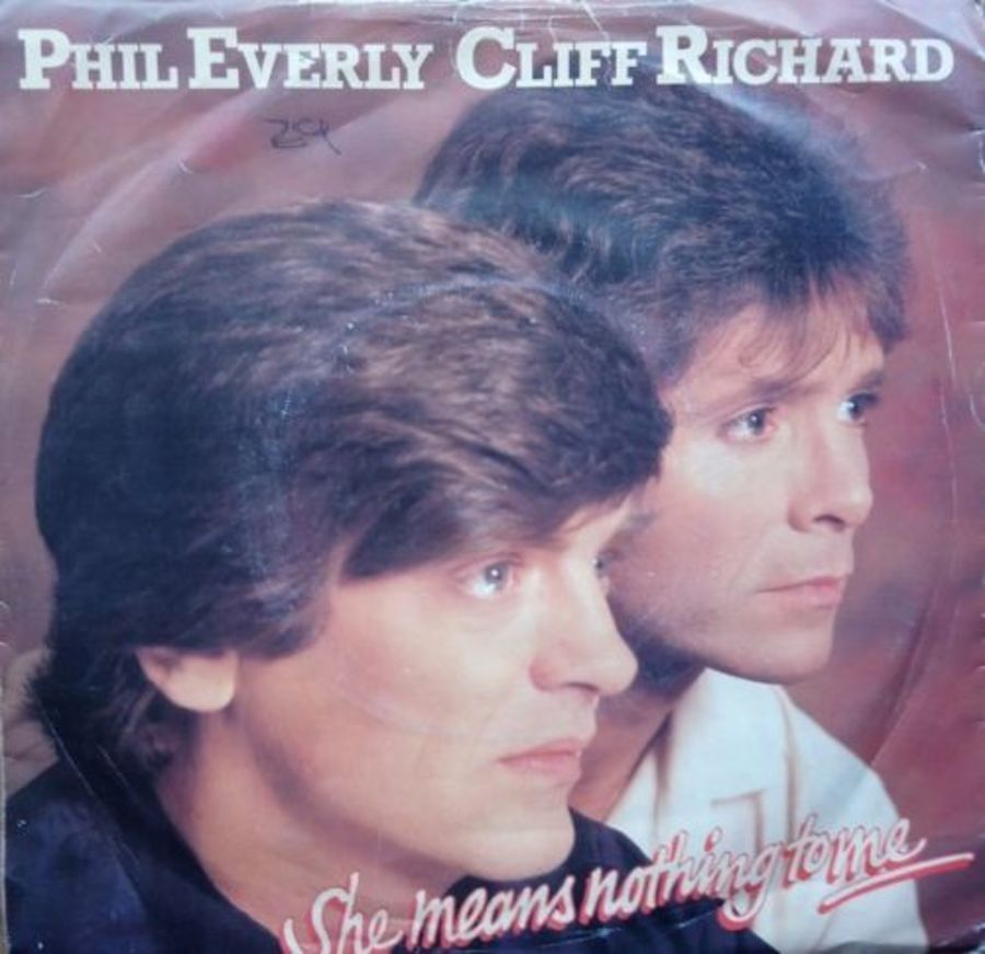 Phil Everly /Cliff Richard - She Means Nothing To Me - 7