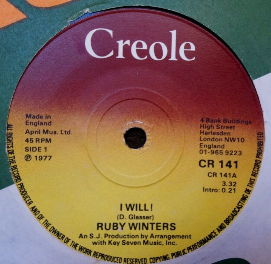 Ruby Winters - I Will - 7