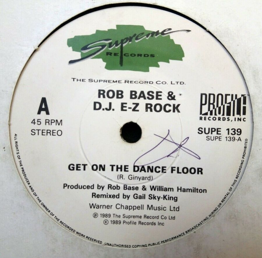 Rob Base & D J EZ Rock - Get On The Dance Floor - 7