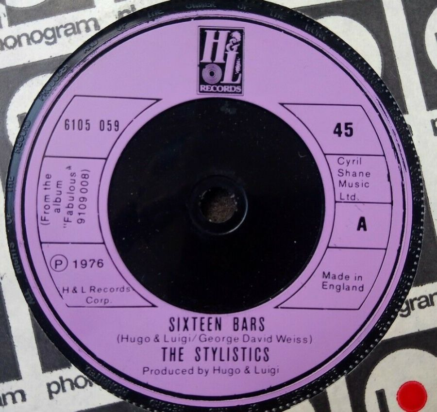 The Stylistics - Sixteen Bars - 7