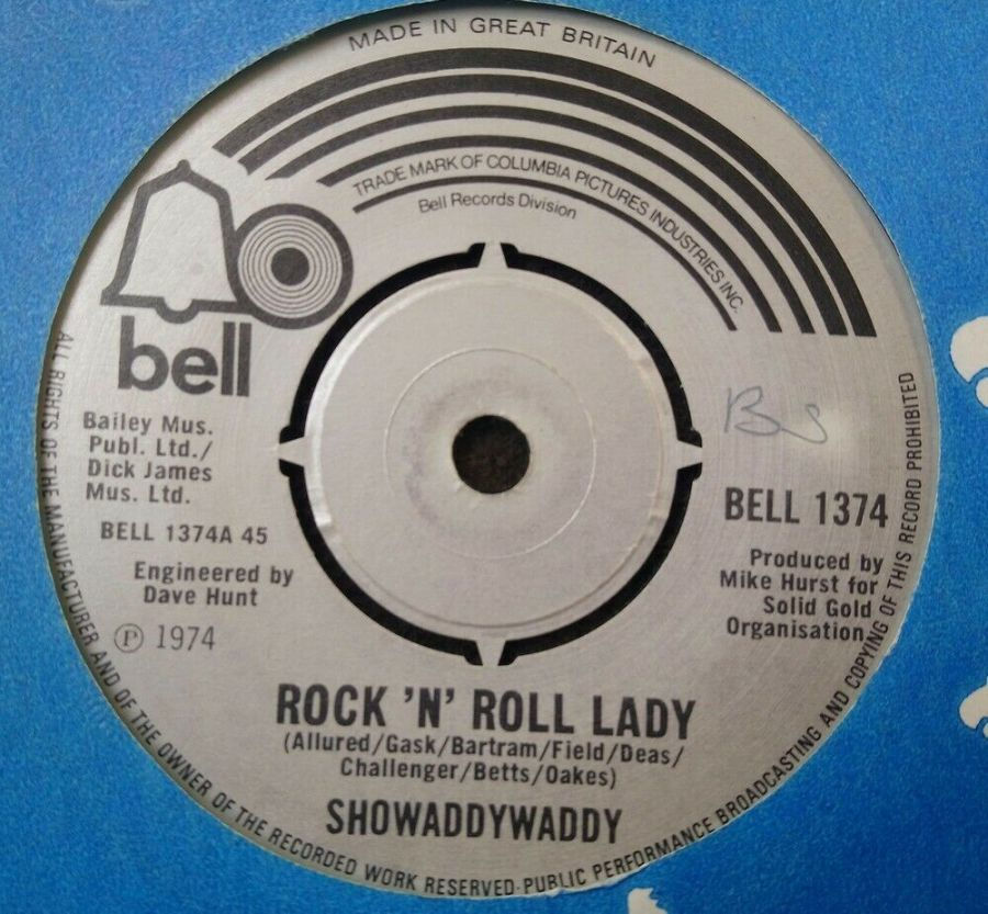 Showaddywaddy - Rock 'N' Roll Lady - 7
