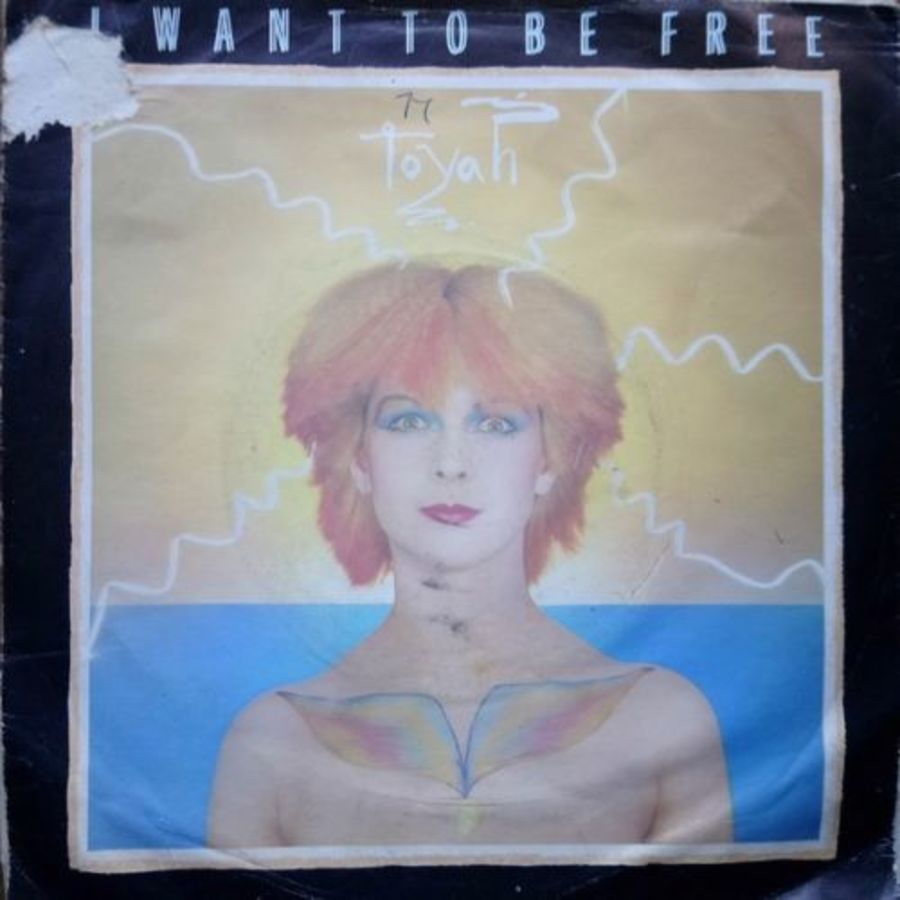 Toyah - I Want To Be Free - 7