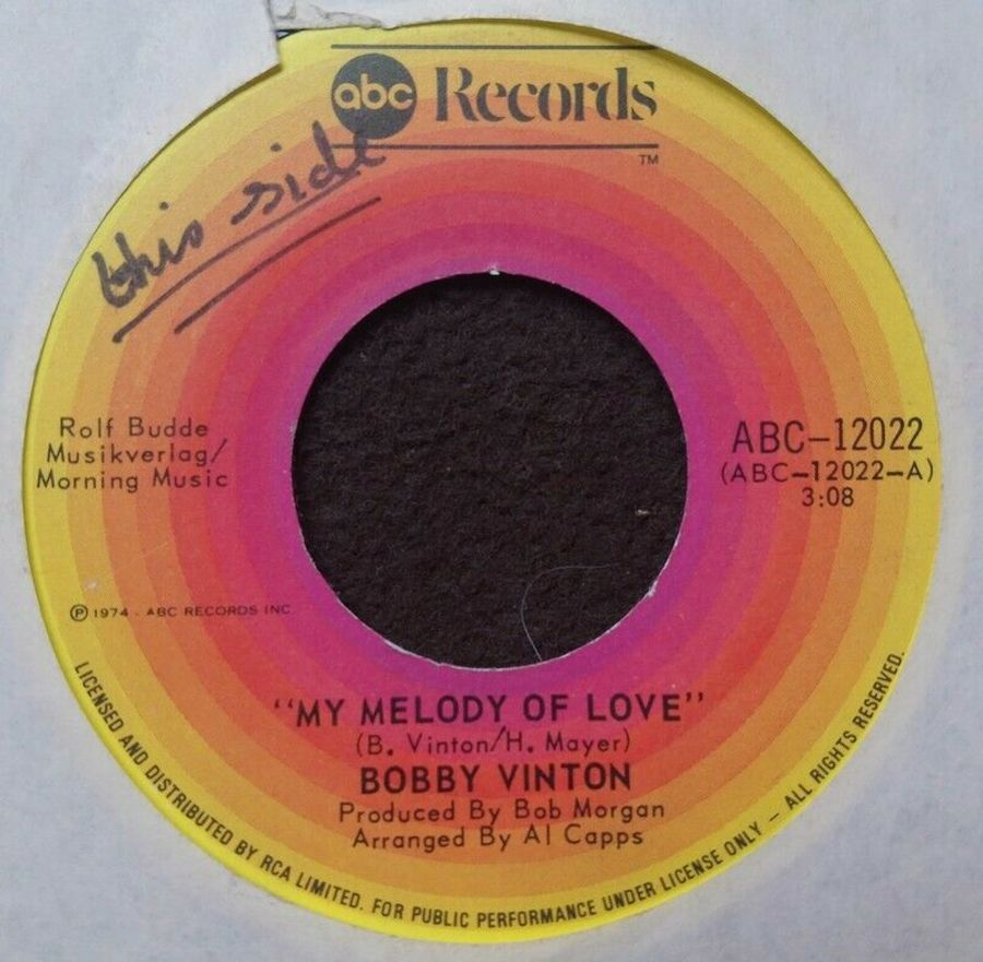 Bobby Vinton - My Melody Of Love - 7
