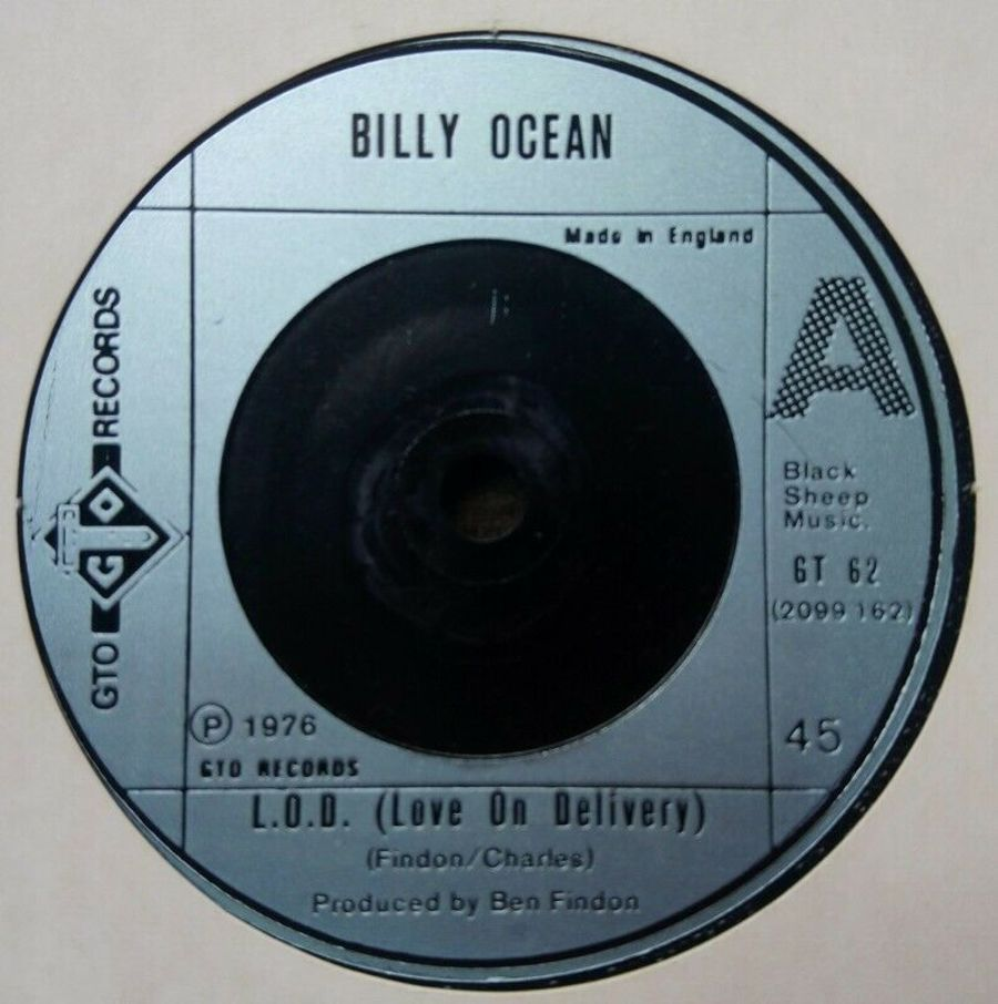 Billy Ocean - L.O.D ( Love On Demand ) Vinyl Record 45 RPM