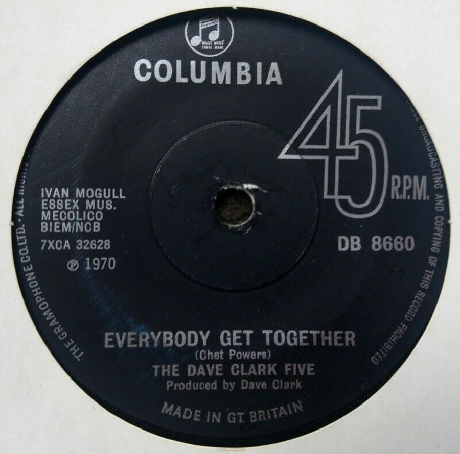The Dave Clarke Five - Everybody Get Together - 7