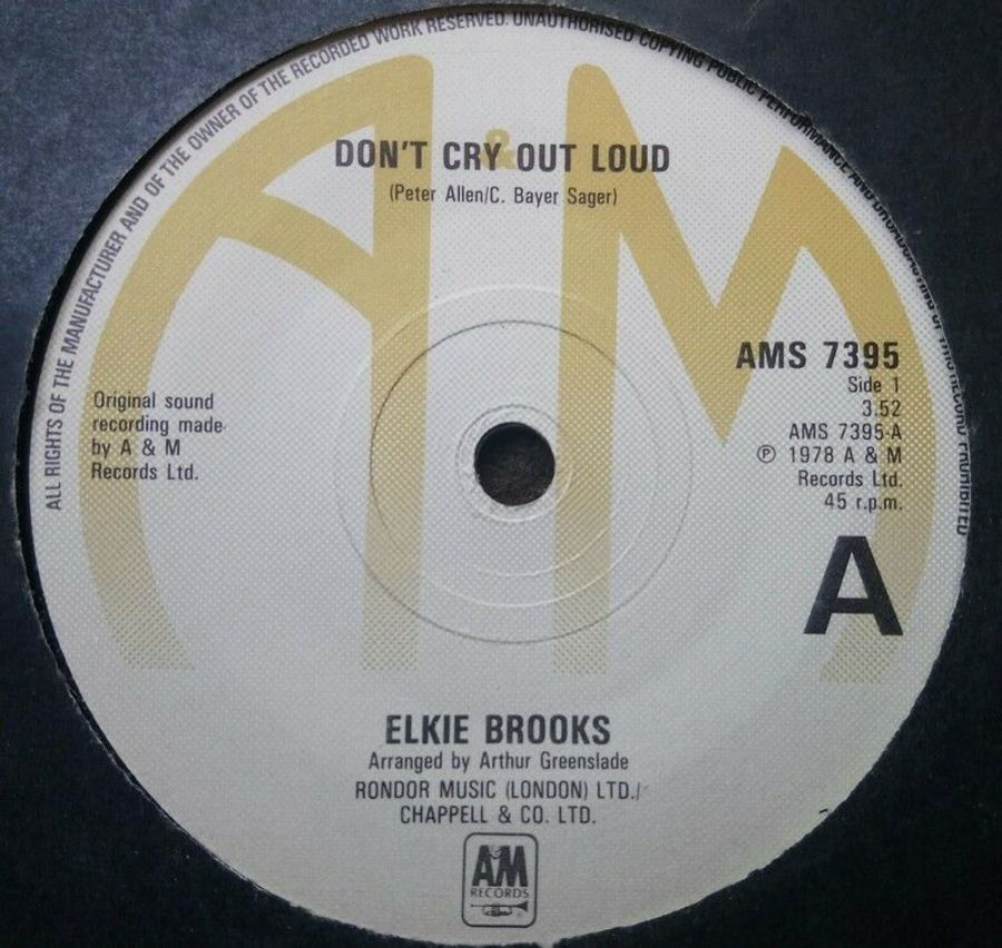 Elkie Brooks - Don't Cry Out Loud - 7