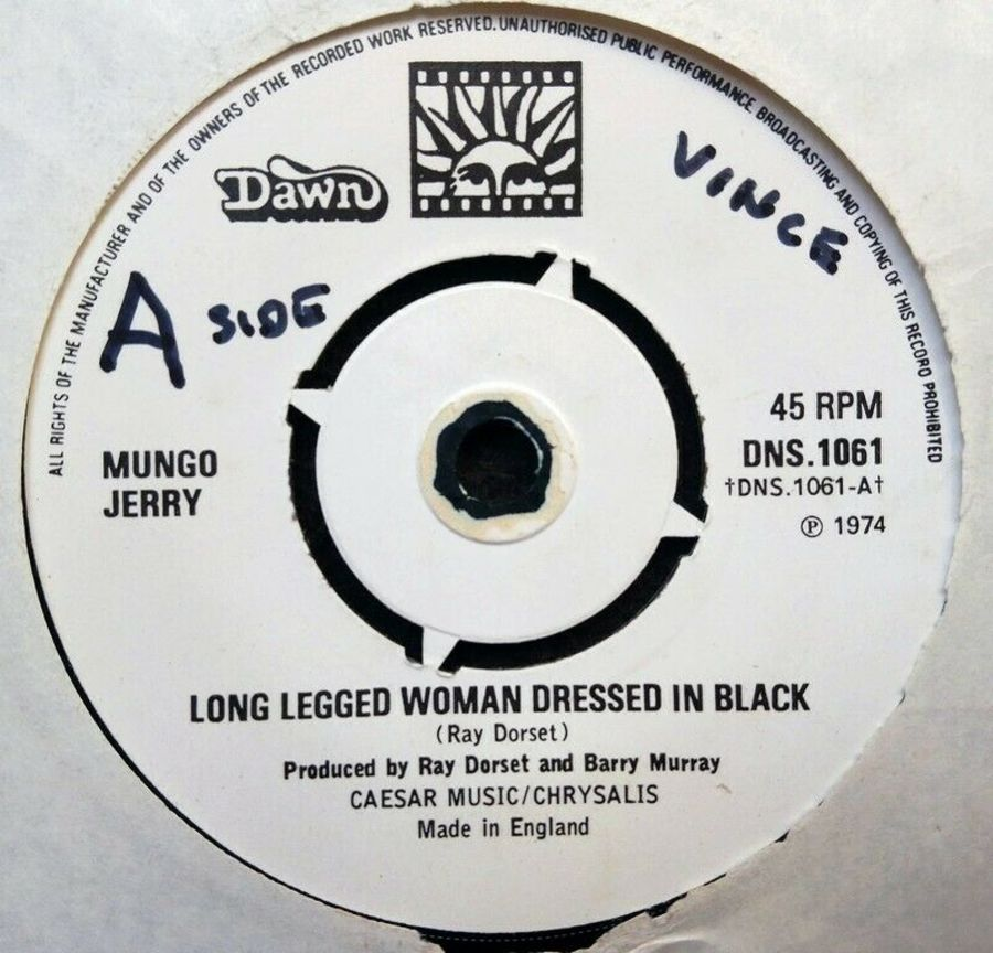 Mungo Jerry - Long Legged Woman Dressed In Black - 7