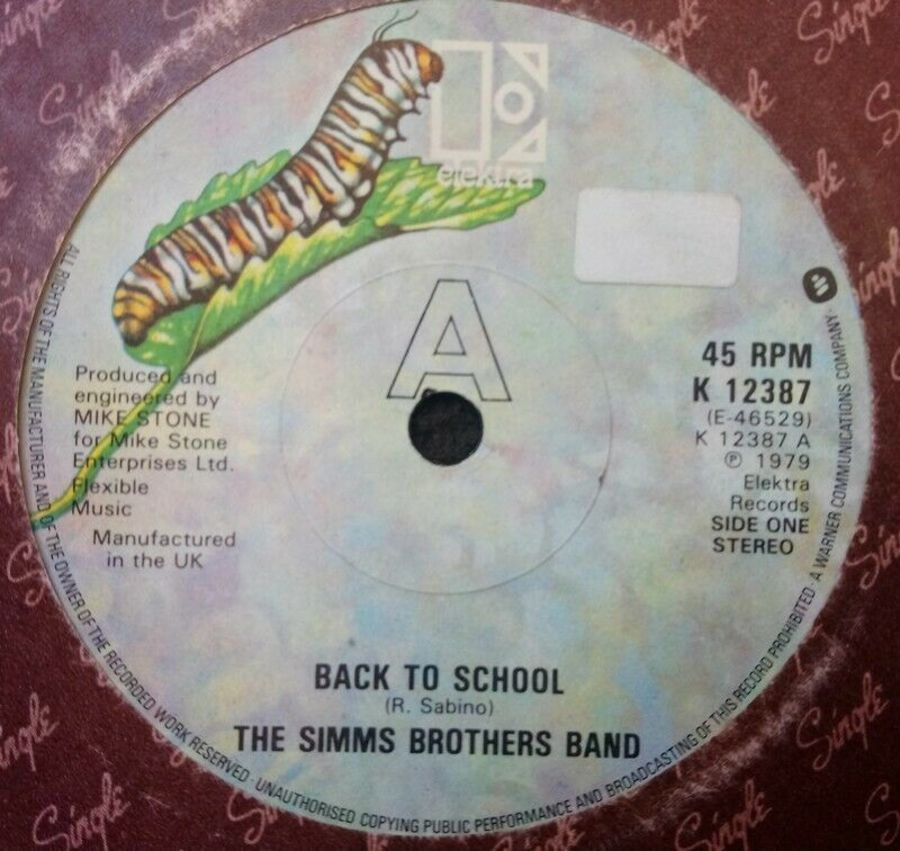 The Simms Brothers Band - Back To School - 7