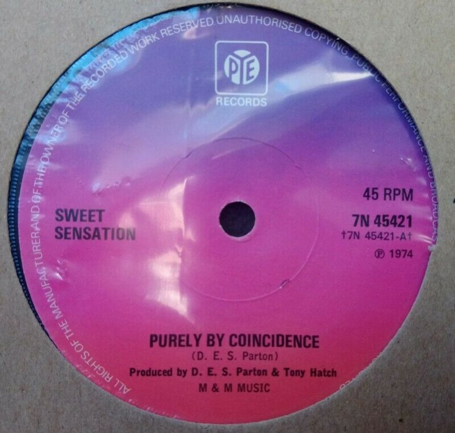 SWEET SENSATION - PURELY BY COINCIDENCE - 7