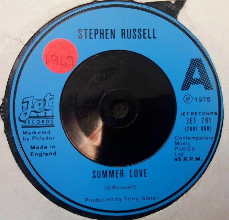 Stephen Russell - Summer Love - 7